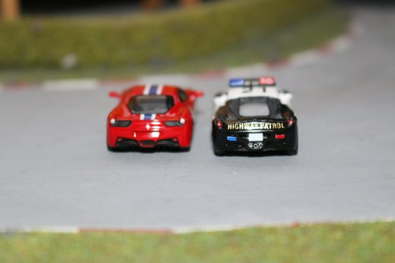 Ferrari 458 diffrent Schuco and 4D 4