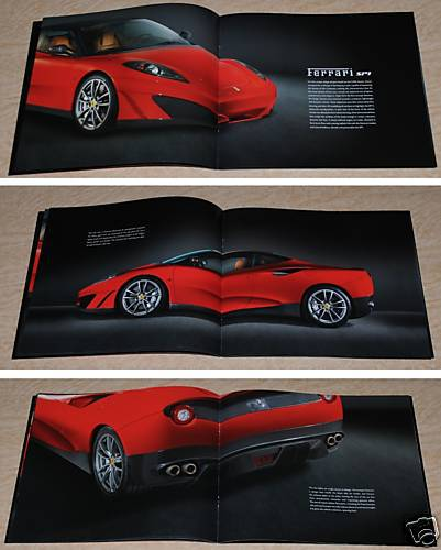 3376-08 ferrari SP1 brochure - 2