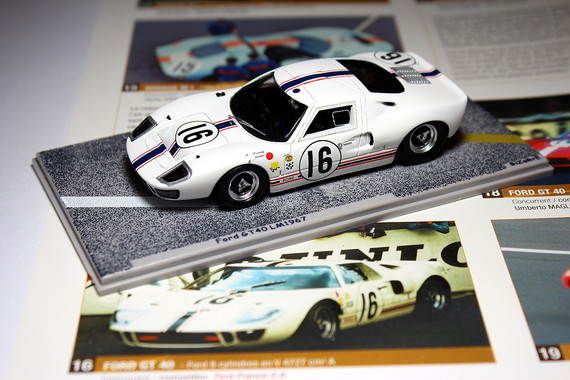 FORD GT40 n°16 LM1967