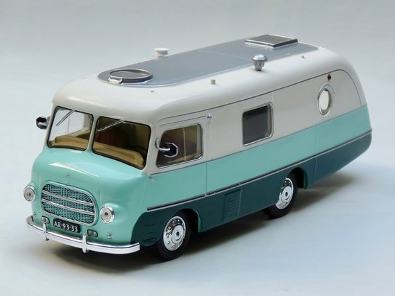 """1954 - Type H Camping-car Coccinelle III """"Le Bastard"""""""