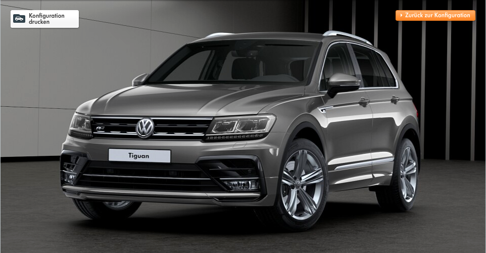 nouveau tiguan r line francfort 2015 nouveau volkswagen tiguan r line 2016 l 39 r sportif photo. Black Bedroom Furniture Sets. Home Design Ideas