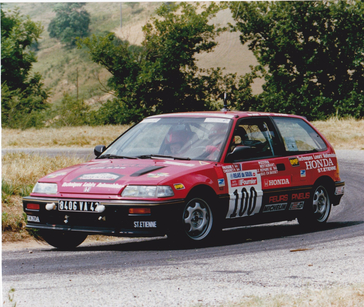 Thierry FAUGERE civic Forez 1989