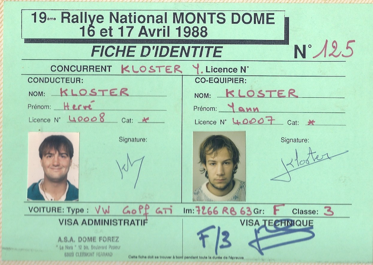 MONTS DOME 1988