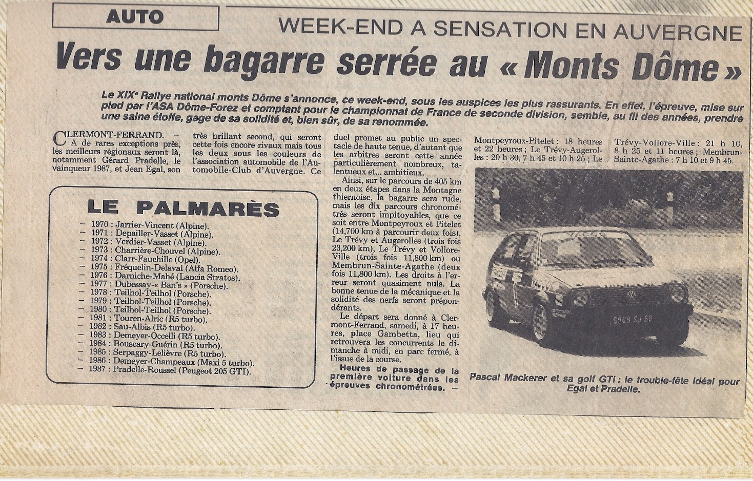 MONTS DOME 1988 b