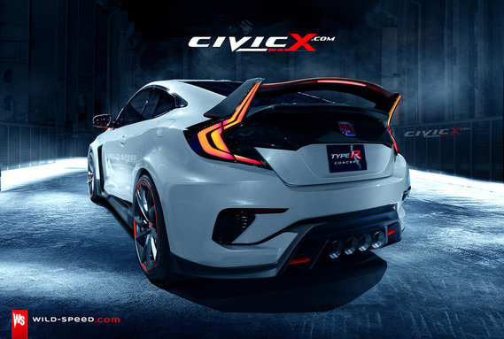 Civic Type R_rear