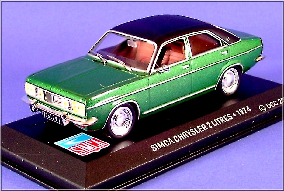 SIMCA CHRYSLER 2 L -1974