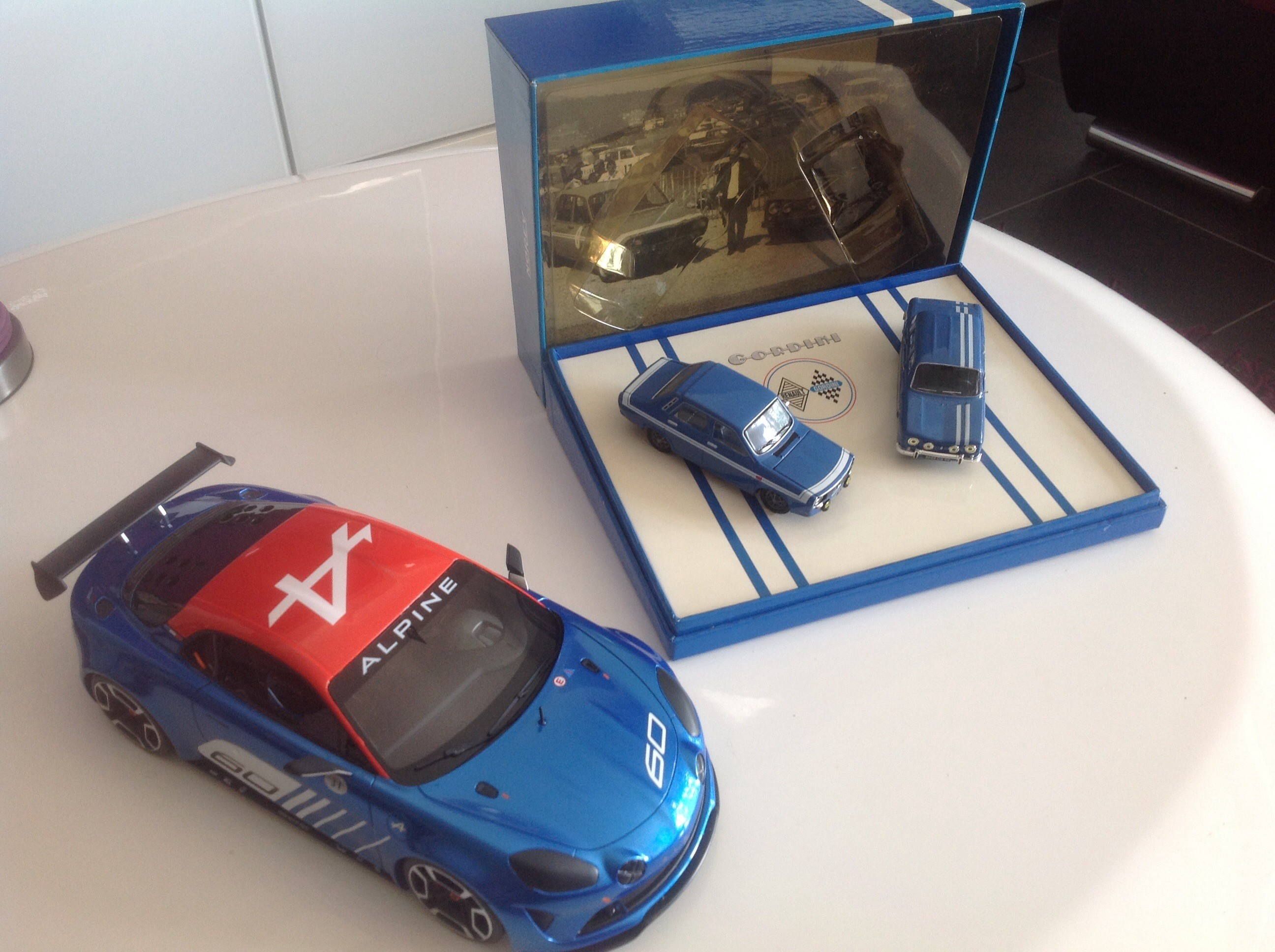 Alpine ottomobile et coffret gordini norev