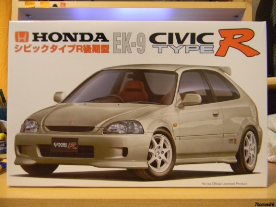 maquette voiture honda civic. Black Bedroom Furniture Sets. Home Design Ideas