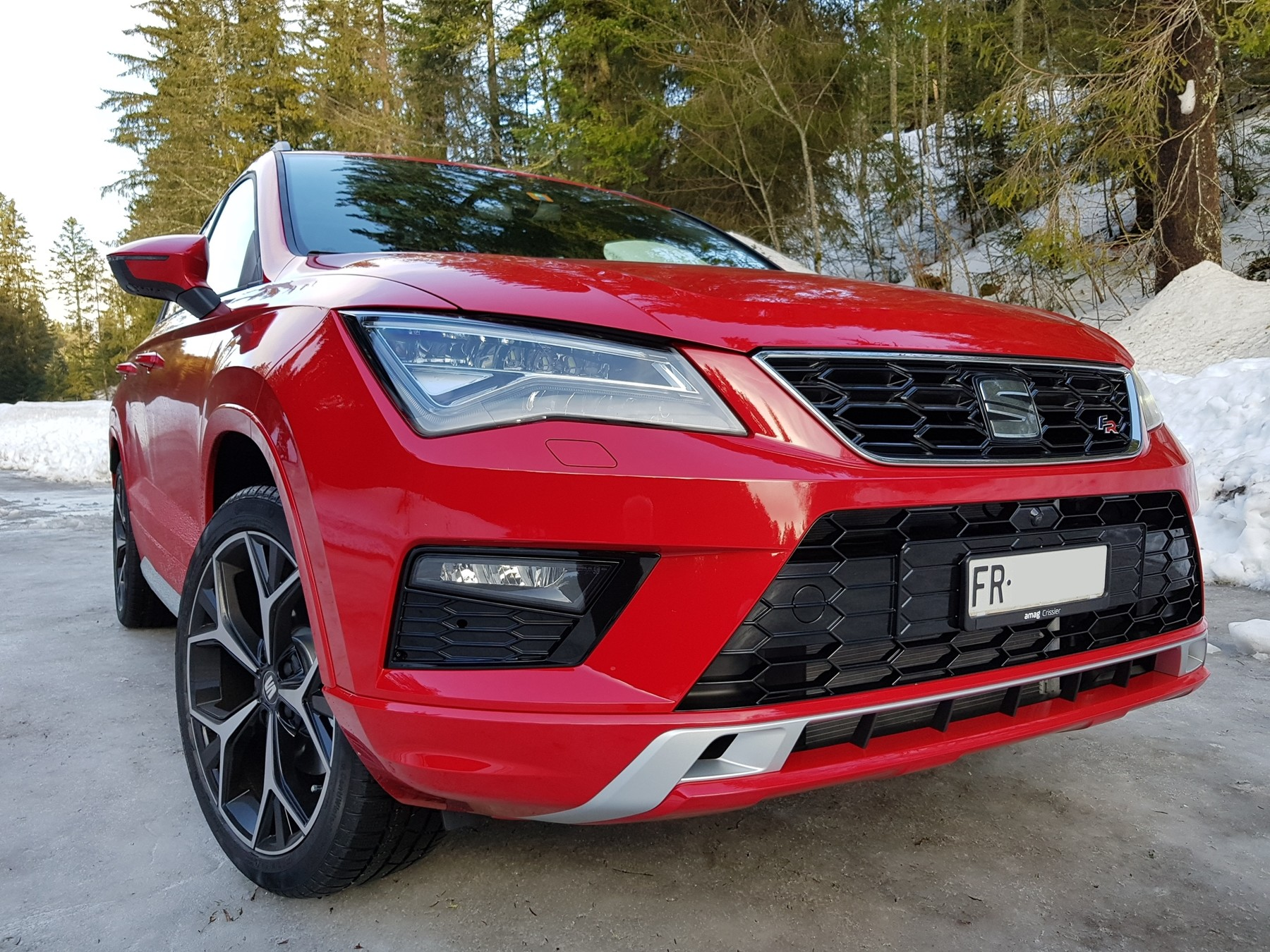 ateca fr 2 0 tsi 190 dsg 4drive 2018 rouge velvet pr sentation ateca seat forum marques. Black Bedroom Furniture Sets. Home Design Ideas