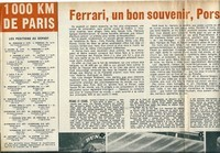 1000 km de Paris 1968