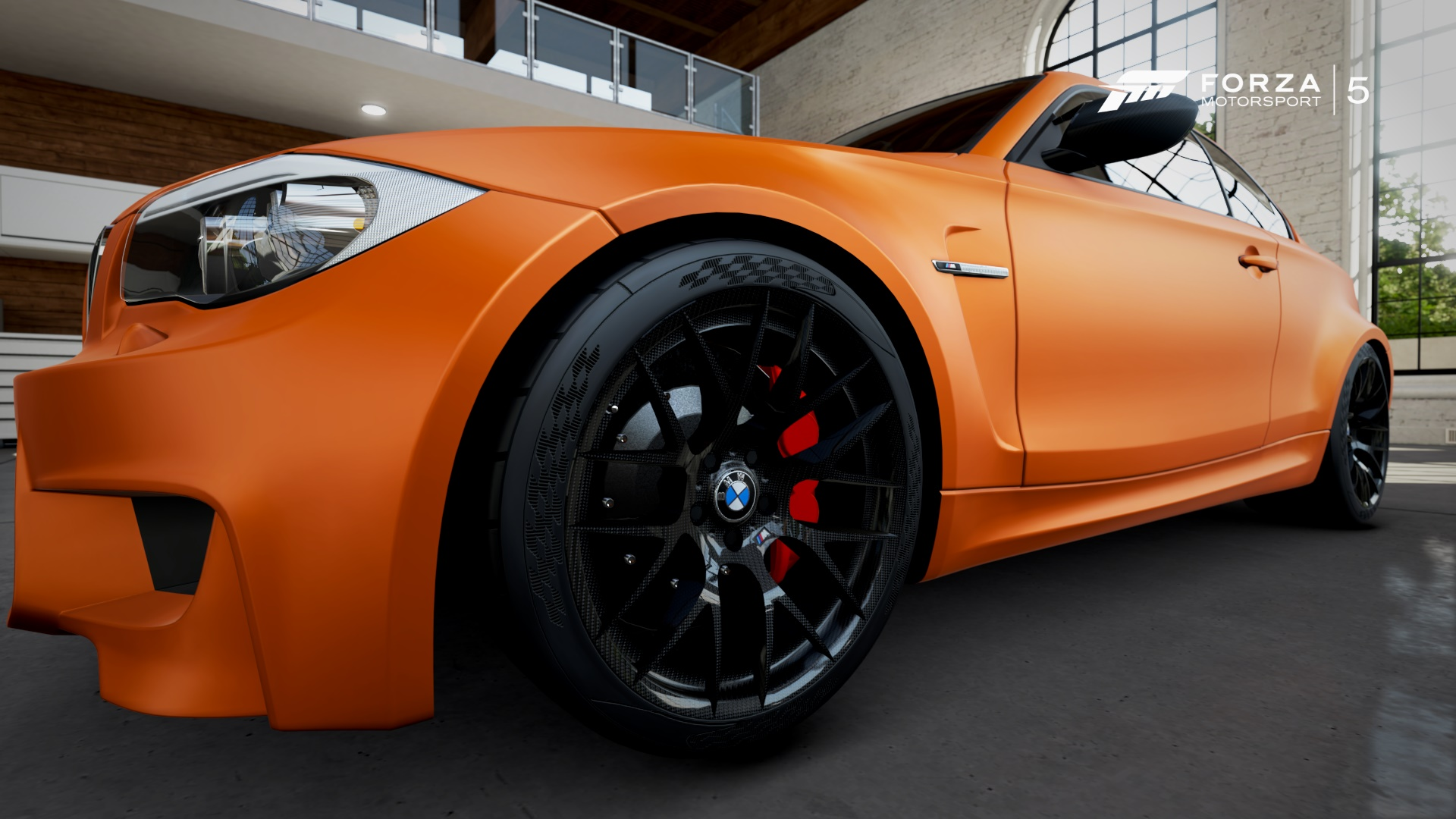 BMW 1M Wheels and Wing Miror carbon