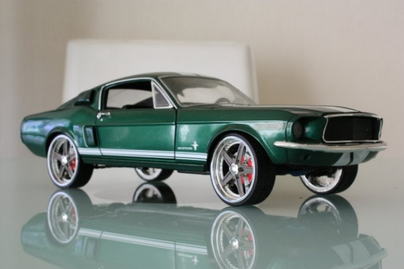 Mustang de Fast and furious 3
