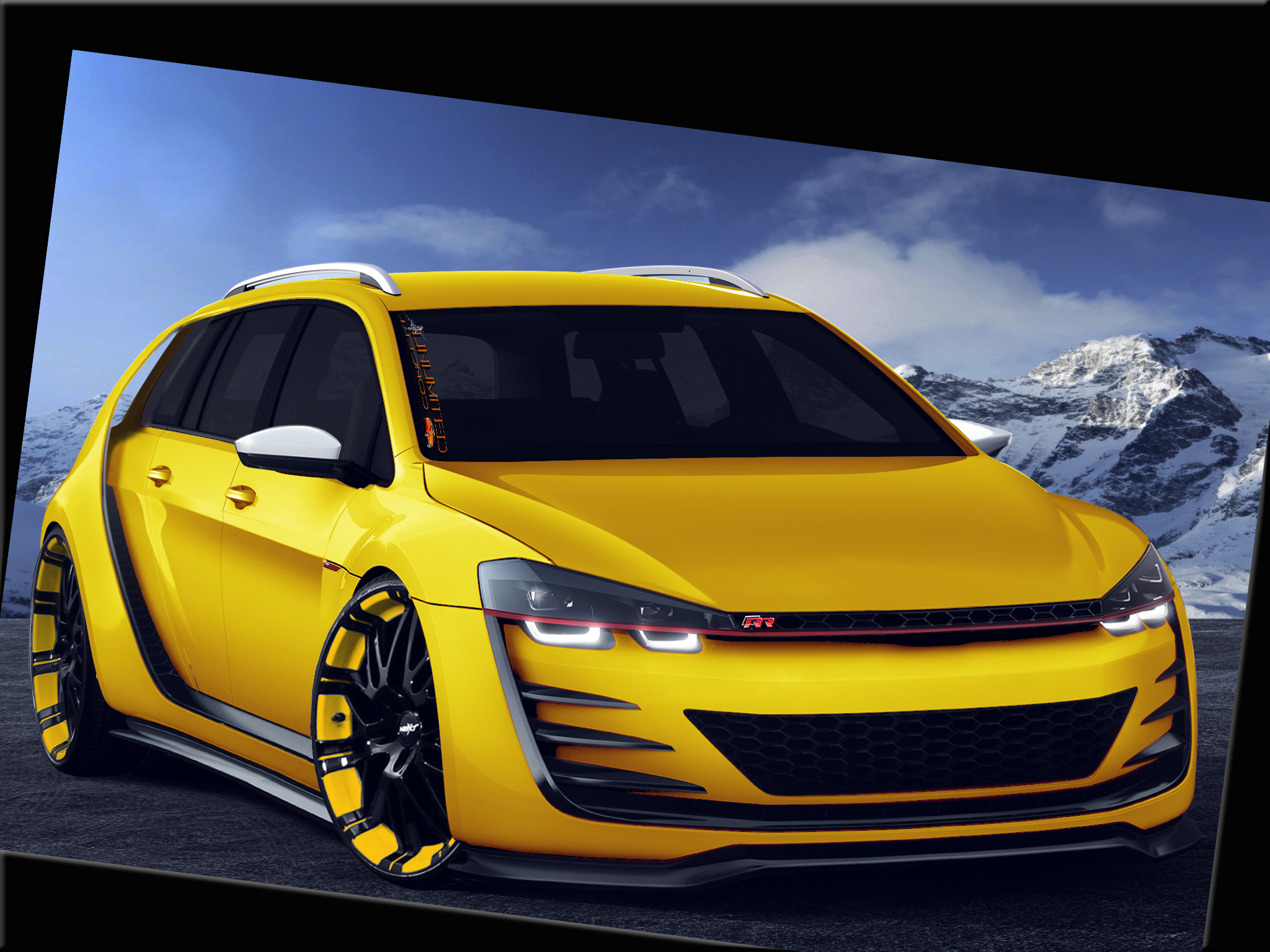 vw golf 7 variant rr vt unlimited concept unlimited. Black Bedroom Furniture Sets. Home Design Ideas