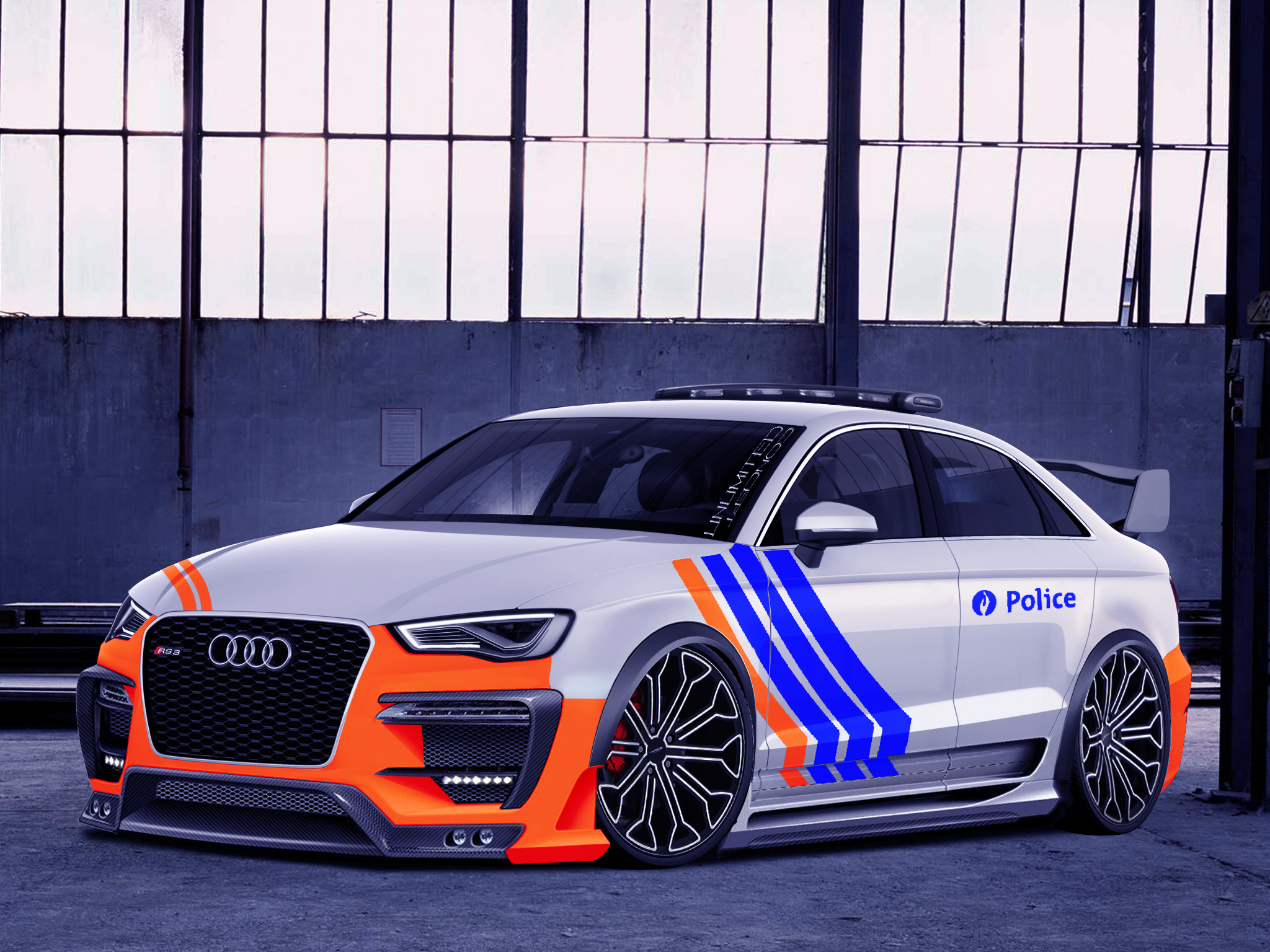 audi a3 rzr police vt unlimited concept unlimited concept photos club. Black Bedroom Furniture Sets. Home Design Ideas