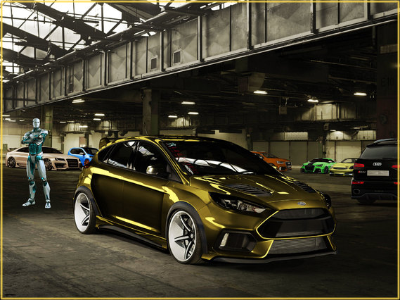 Ford focus rss for Garage ford le plessis grammoire