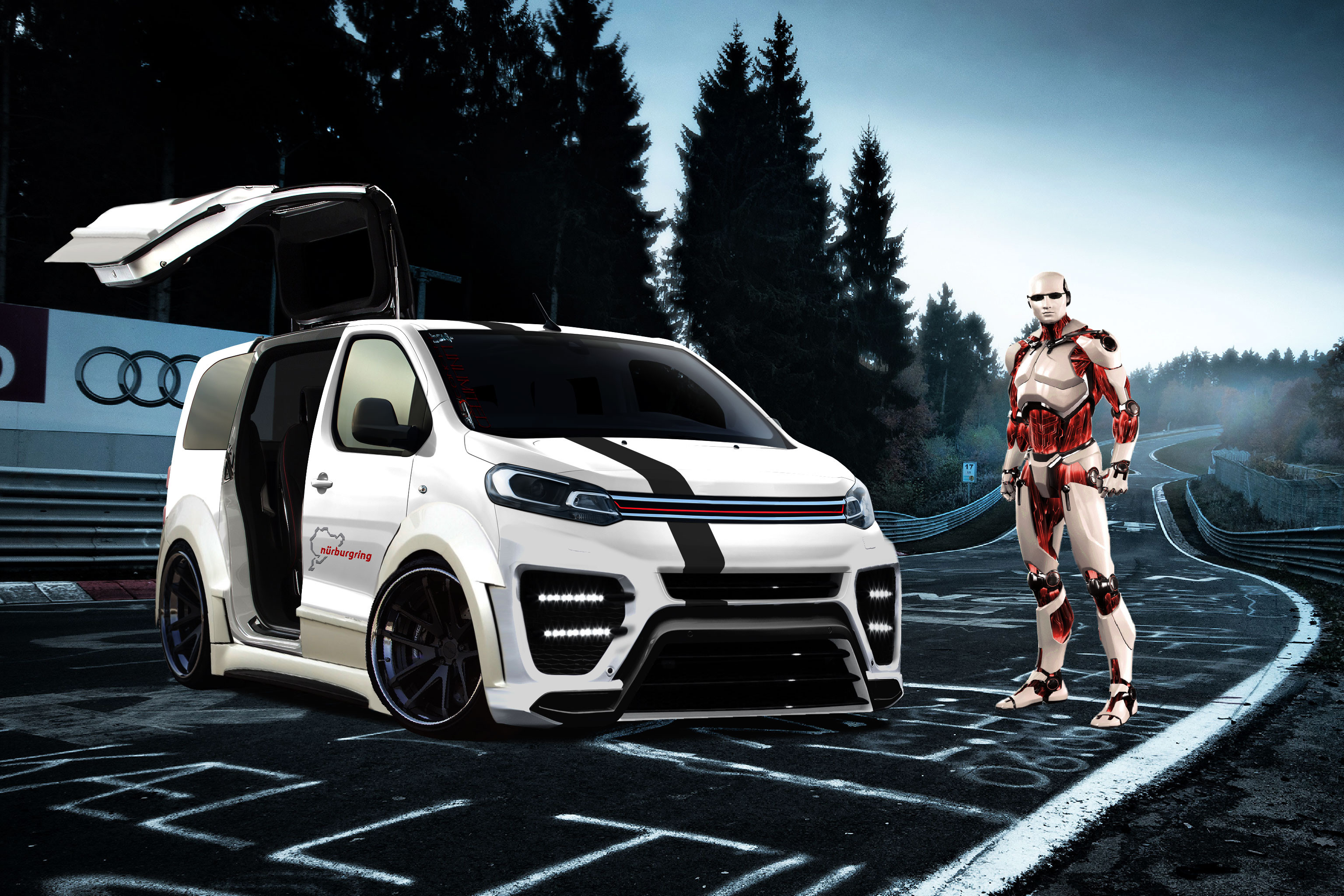 citroen space sport tourer rzr citro n unlimited concept photos club. Black Bedroom Furniture Sets. Home Design Ideas