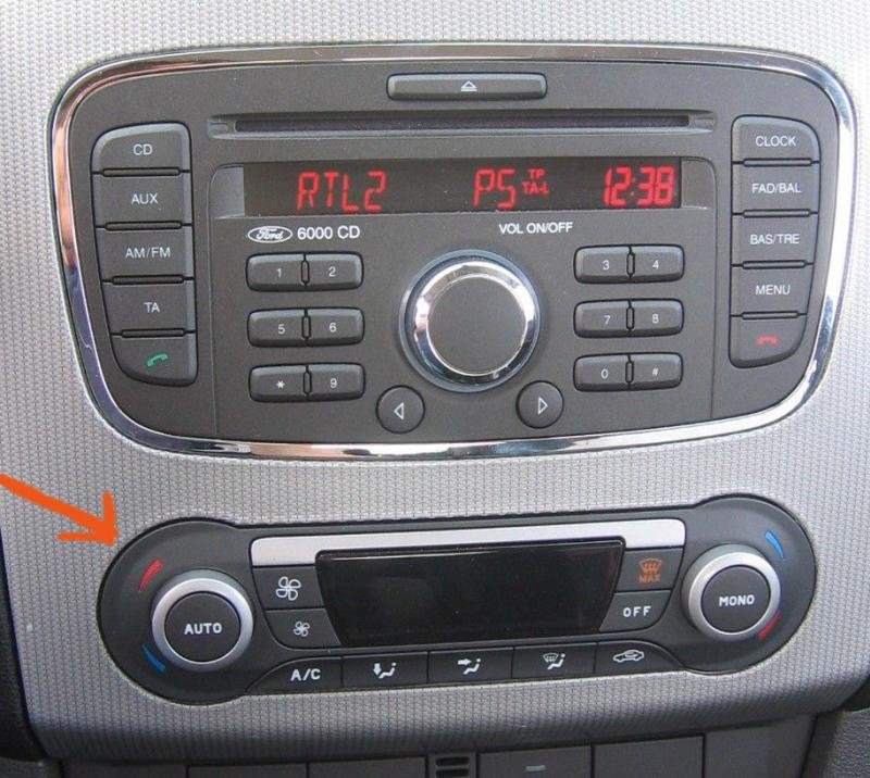 autoradio ford 6000 cd focus ford forum marques. Black Bedroom Furniture Sets. Home Design Ideas