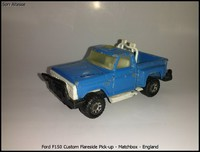 Ford F150 Custom Flareside Pick-up - Matchbox - England