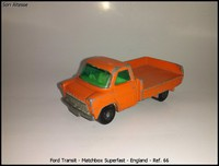 Ford Transit - Matchbox Superfast - England - Ref- 66