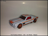 Ford Mustang Fastback - 1965 - Hot Wheels - Malaysia