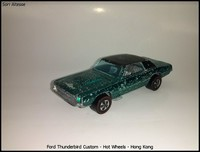Ford Thunderbird Custom - Hot Wheels - Hong Kong