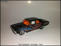 Ford Thunderbolt - Hot Wheels - China