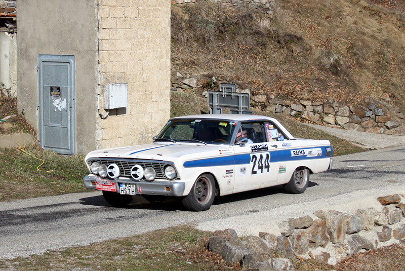 244-3  BRUNS Michael  WESTENBURGER Frank  FORD FALCON SPRINT  ZR3 la Croze  Antraigues