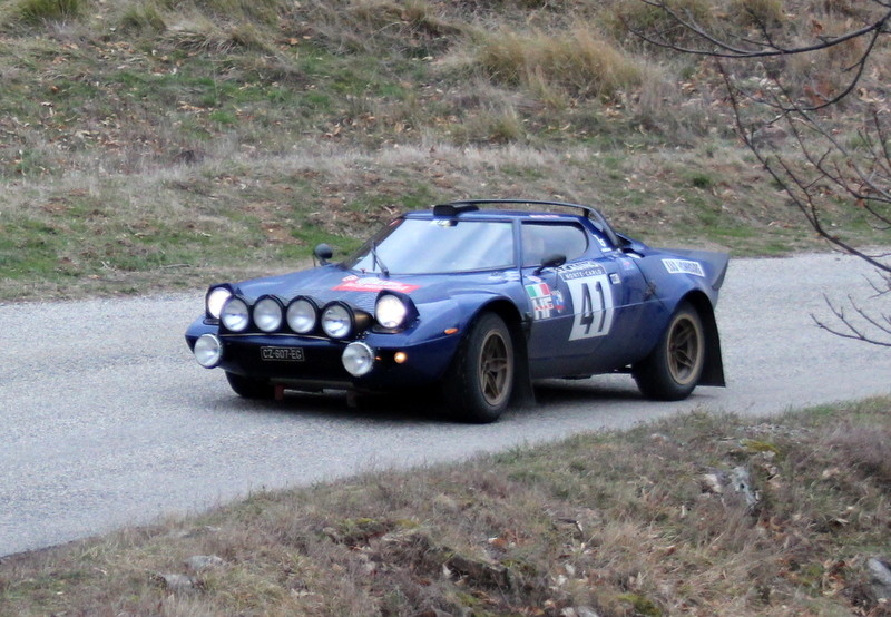 041-2 WRIGHT Jason  TRAVERSO Stefano  LANCIA STRATOS ZR3 la Croze  Antraigues