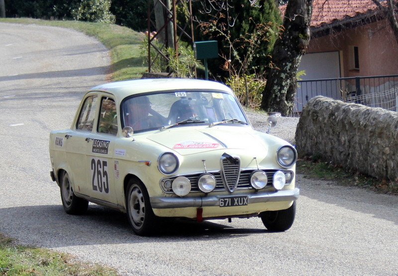 265-1 MUSTARDE David  CAVE Willy  ALFA-ROMEO GIULIETTA TI ZR3 la Croze  Antraigues