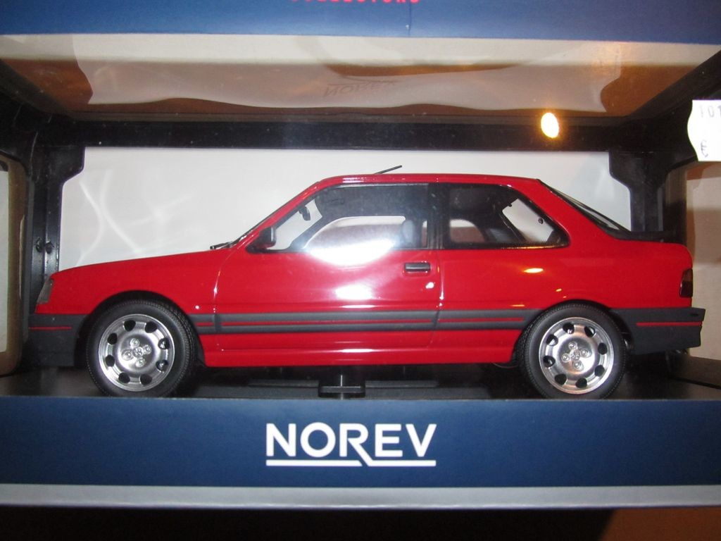 Peugeot 309 GTi phase 1 - Norev 1/18°