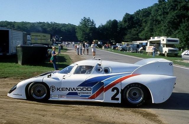 1981 Road America, 500 miles, paddock, BMW Motorsport with the March 81P nr2 (Hobbs-Schuppan) dnf
