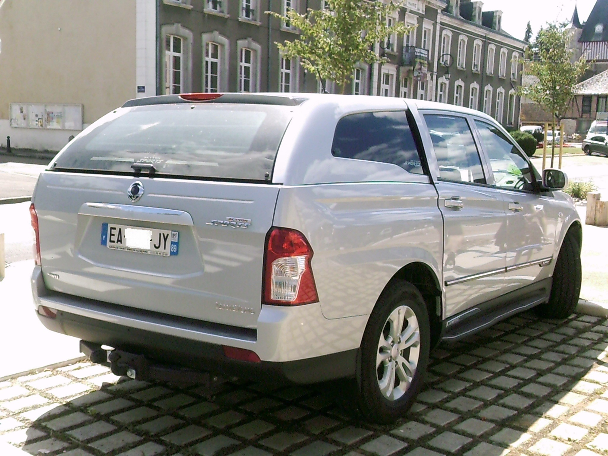 SsangYong Actyon Sports II 1