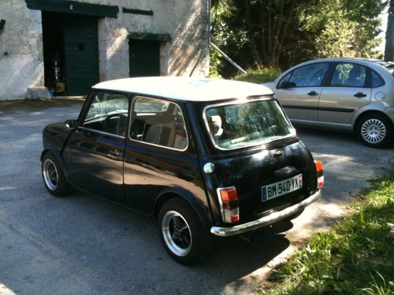 austin mini 1000 mayfair de 1985 vente anciennes annonces auto et accessoires forum pratique. Black Bedroom Furniture Sets. Home Design Ideas