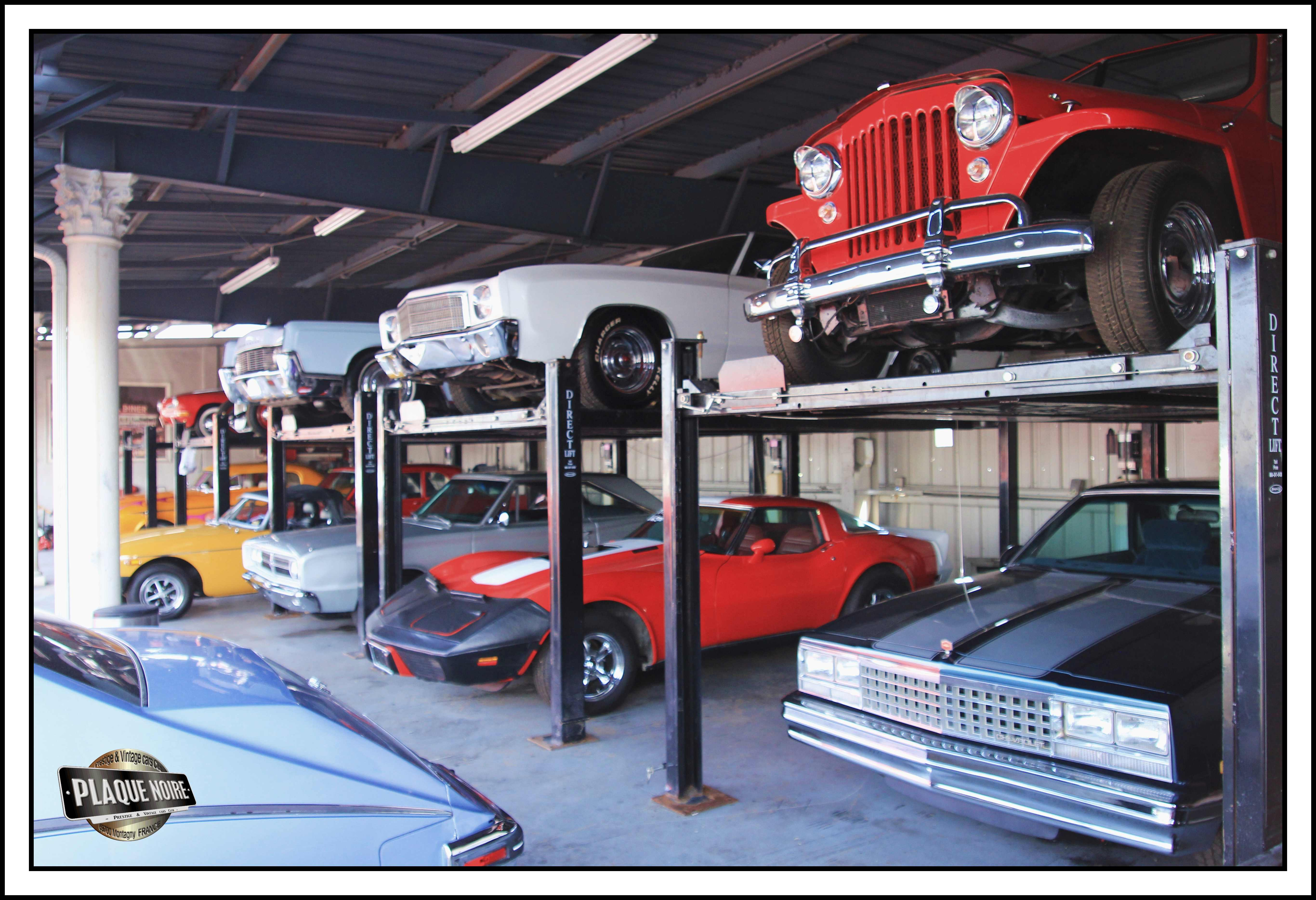 Garage ted vernon voitures am ricaines toubab9 for Cote reprise voiture garage