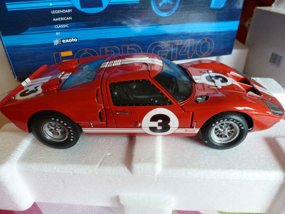EXOTO FORD GT 40