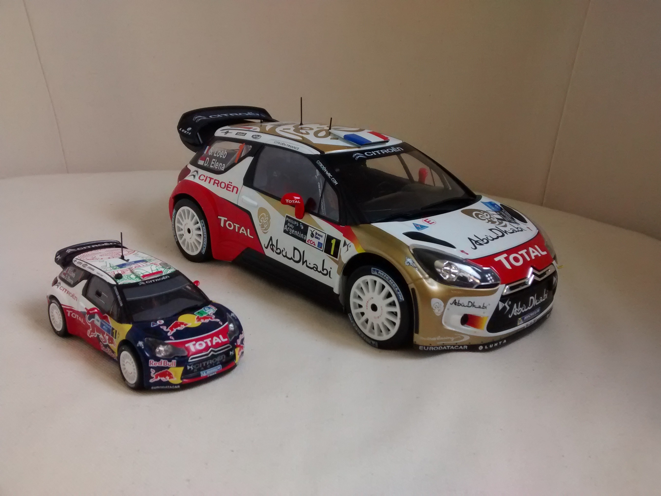ds3 loeb rallye 1 18 et 1 43 crvtt 69 photos club. Black Bedroom Furniture Sets. Home Design Ideas