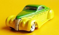"'37 Lincoln Zephyr ""Swoop Coupe""/HW ok"