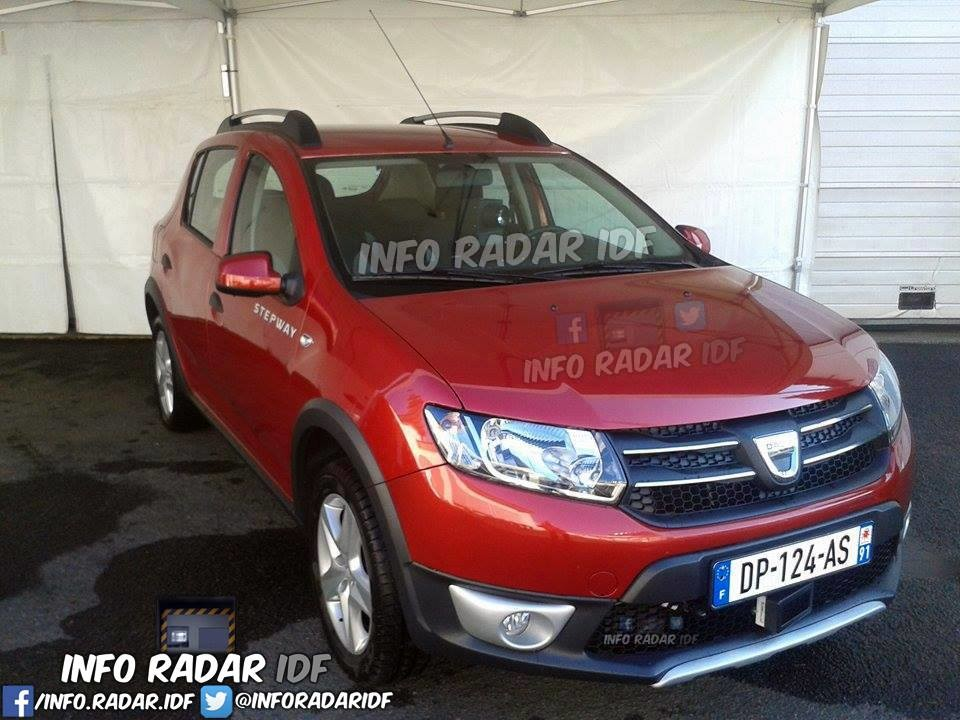 dep 77 sandero rouge DP 124 AS