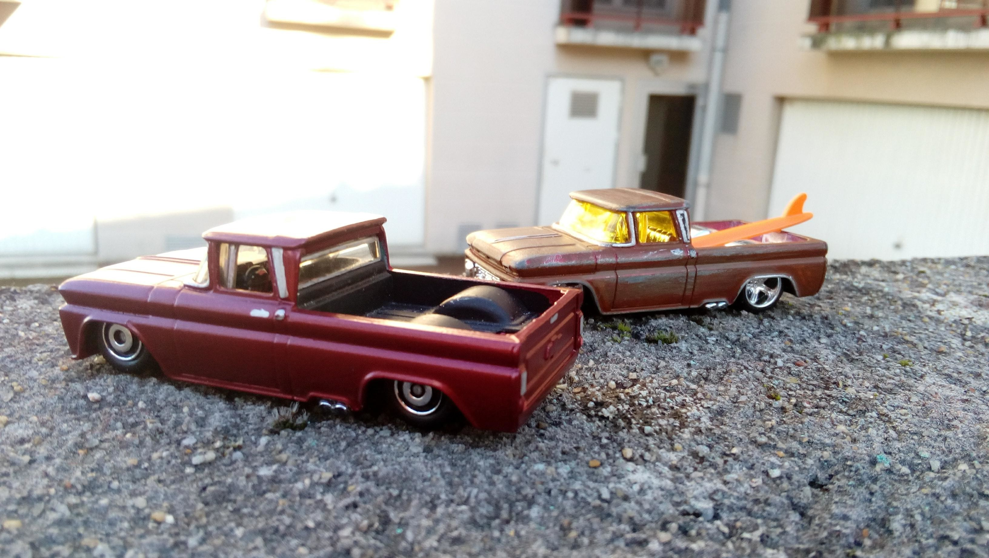 Duo Chevy 62' custom By Mamout