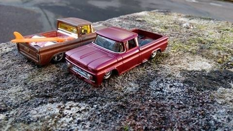 duo pickup chevy 62 by Mamout
