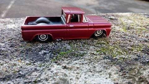 Pickup chevy 62 slammed by Mamout