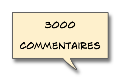 3000commentaires