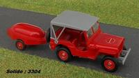 Willys Jeep & motopompe Guinard