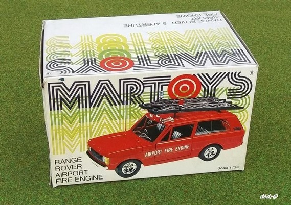 Martoys : Range Rover fire (1)