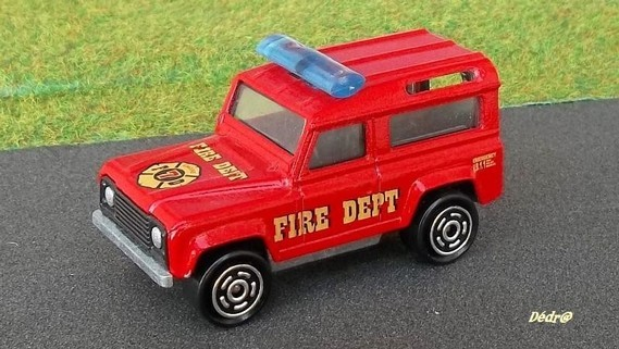 Land Rover Fire Dept.