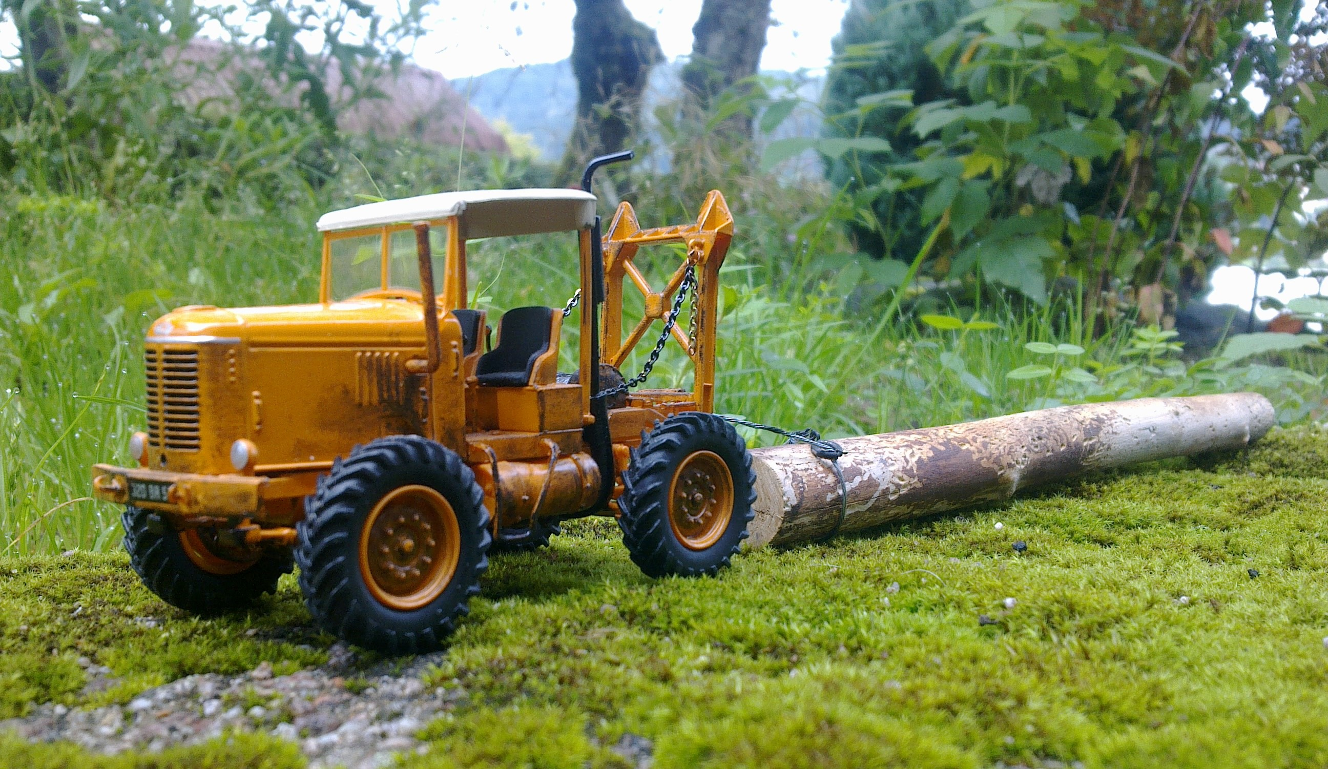 tracteur forestier latil usage occasion