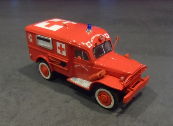 Dodge ambulance WC 54