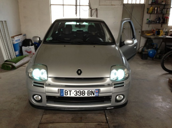 clio rs1 hid