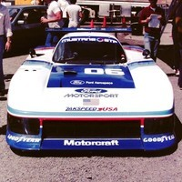 1984 08 05 Sears Point Mustang GTP Zakspeed #06