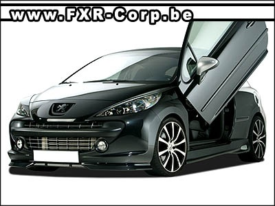 peugeot 207 cc kit carrosserie tuning divers. Black Bedroom Furniture Sets. Home Design Ideas